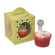 Sizzix Thinlits Plus Die Set 18PK - Box, Cupcake