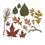 Thinlits Die Set 14PK - Fall Foliage