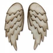 Bigz L Die - Feathered Wings