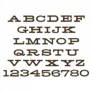 Sizzix Bigz XL Alphabet Die - Billboard