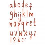 Sizzix Thinlits Die Set 30PK - Delicate Letters #2