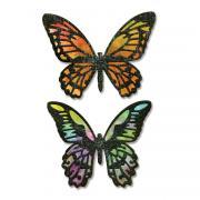 Sizzix Thinlits Die Set 4PK - Detailed Butterflies