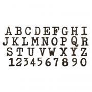 Sizzix Bigz XL Alphabet Die - Typo Upper