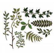 Sizzix Thinlits Die Set 9PK - Garden Greens by Tim Holtz
