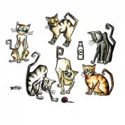 Framelits Die Set 22PK - Crazy Cats
