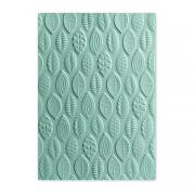 Sizzix 3-D Textured Impressions Embossing Folder - Leaves