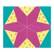 "Sizzix Bigz Plus Die - Hex Star, 12 1/2"" x 14 1/2"" Assembled"