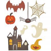 Sizzix Thinlits Die Set 7PK -Spooky Halloween