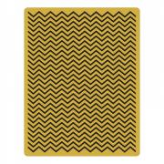Sizzix Texture Fades Embossing Folder - Chevron