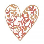 Sizzix Thinlits Die - Natural Love
