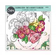 Sizzix Colouring Book - Take a Moment to Breathe