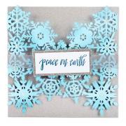 Sizzix Thinlits Die - Snowflake Card