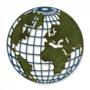 Sizzix Thinlits Die - Globe, Mini