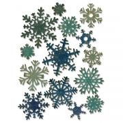 Sizzix Thinlits Die Set 14PK - Paper Snowflakes, Mini