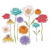 Sizzix Framelits Die Set 18PK - Flower Garden & Mini Bouquet