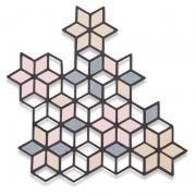 Sizzix Thinlits Die - Diamond Cluster