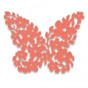 Sizzix Thinlits Die - Floral Butterfly
