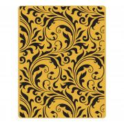 Sizzix Texture Fades Embossing Folder - Flourish by Tim Holtz