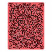 Texture Fades Embossing Folder - Roses