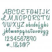 Sizzix Thinlits Die Set 69PK - Script, Upper & Lower by Tim Holtz