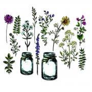 Sizzix Framelits Die Set 23PK - Flower Jar