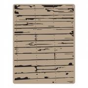 Sizzix Texture Fades Embossing Folder - Wood Planks