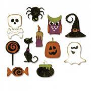 Thinlits Die Set 11PK - Mini Halloween Things
