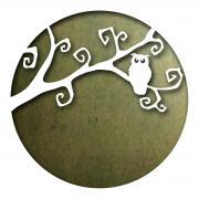 Sizzix Thinlits Die - Moonlit Owl
