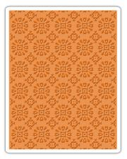 Sizzix Texture Fades Embossing Folder - Rosettes