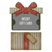 Sizzix Thinlits Die Set 6PK - Gift Card Package by Tim Holtz