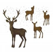 Sizzix Thinlits Die Set 5PK - Winter Wonderland by Tim Holtz