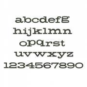 Sizzix Bigz XL Alphabet Die - Storybook