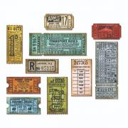 Sizzix Thinlits Die Set 6PK - Ticket Booth