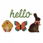 Sizzix Sidekick Side-Order Set - Springtime