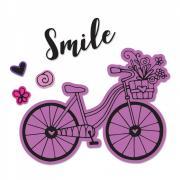 Sizzix Framelits Die Set 4PK w/Stamps - Bicycle #2