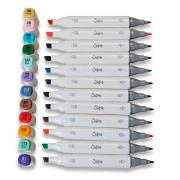 Sizzix Accessory – Permanent Pens, 12PK (Assorted Colours)
