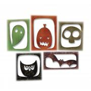 Sizzix Thinlits Die Set 5PK - Halloween Hangouts by Tim Holtz