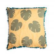 Tropical Leaf Cushion