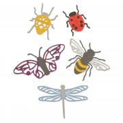 Sizzix Thinlits Die Set 5PK - Insects