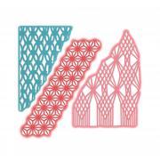 Sizzix Thinlits Die Set 3PK - Macramé Masks