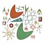 Sizzix Thinlits Die Set 25PK - Atomic Elements by Tim Holtz