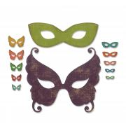 Sizzix Thinlits Die Set 12PK - Masquerade by Tim Holtz