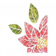 Sizzix Thinlits Die Set 3PK - Poinsettia Pieces by Tim Holtz
