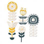 Sizzix Thinlits Die Set 13PK - Stackable Florals
