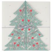 Sizzix Thinlits Die Set 2PK - Christmas Tree Card