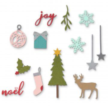Sizzix Thinlits - Festive Set