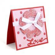 Love Wreath Card