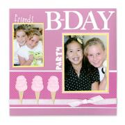 Friends B-Day Party Scrapbook Page
