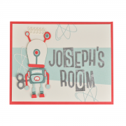 Robot Room Sign