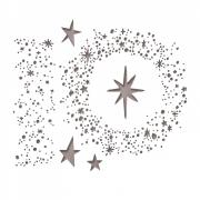 Sizzix Thinlits Die Set 6PK - Snowy Stars